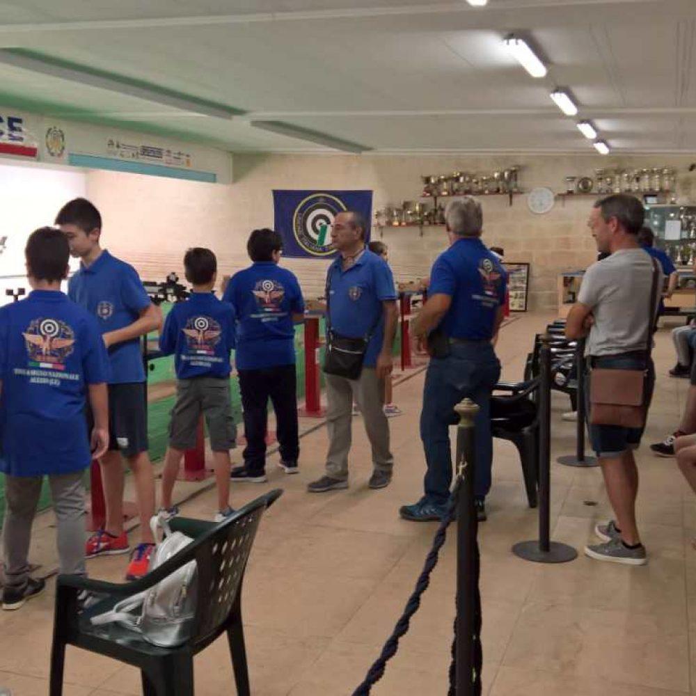 Ai Campionati Provinciali in bella mostra i giovani della sezione di Alezio
