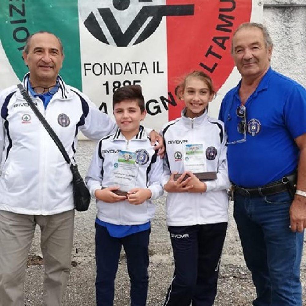 TSN ALEZIO: Gabriel Antonaci Campione Regionale Giovanissimi 2019 P10A