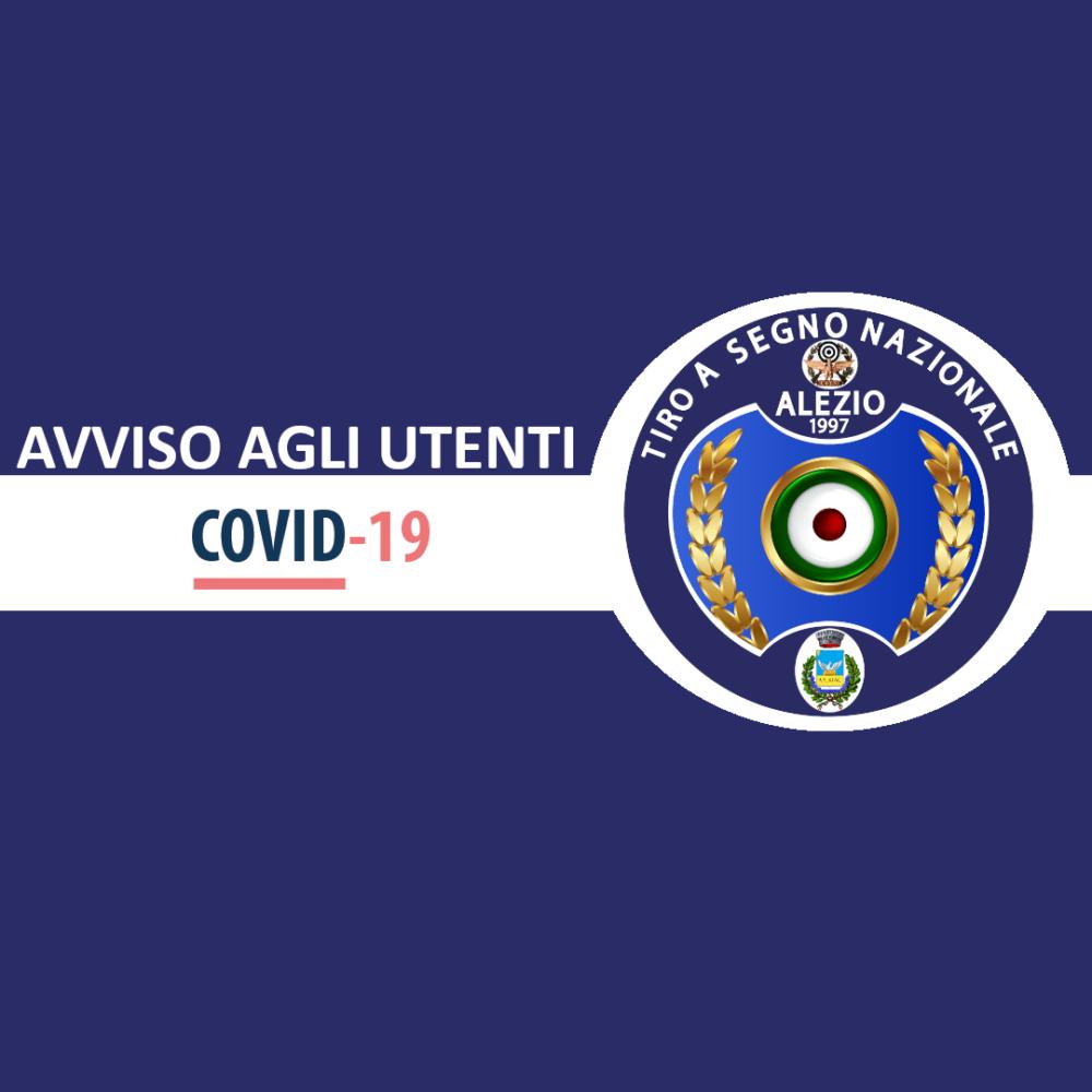 COVID-19: Avviso agli utenti
